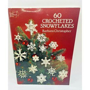 60 Crocheted Snowflakes, Paperback by Christopher,